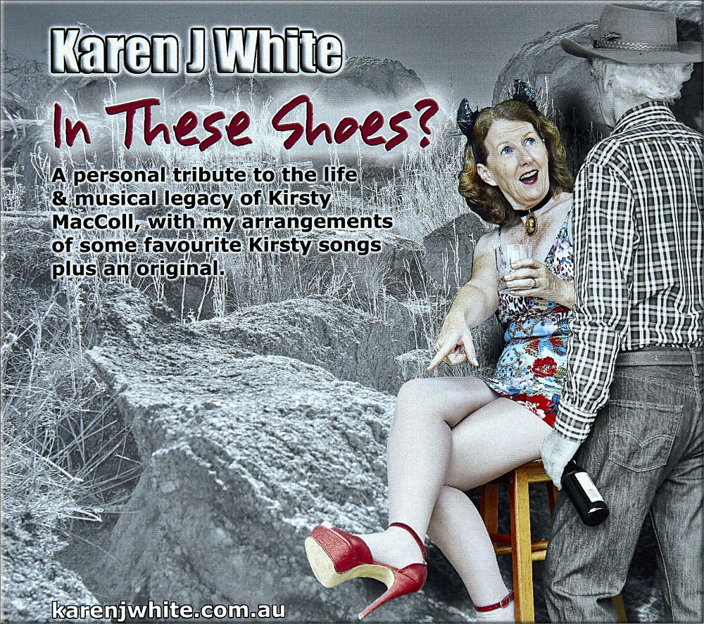 Karen J White′s album ″In These Shoes?″ album cover