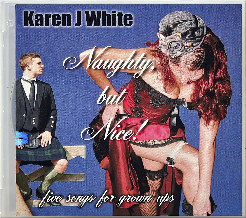 Karen J White′s album ″Naughty, but Nice!″ album cover
