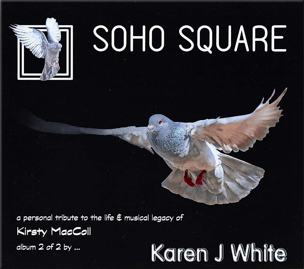 Karen J White′s album ″Soho Square″ album cover